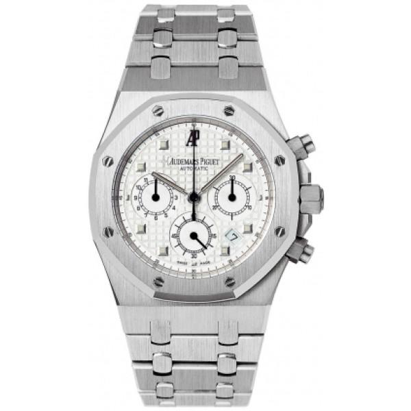 Audemars Piguet watches Royal Oak Chronograph (18kt WG / White / 18kt WG)