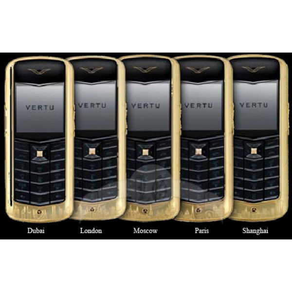 Vertu Constellation Yellow Gold Engraving