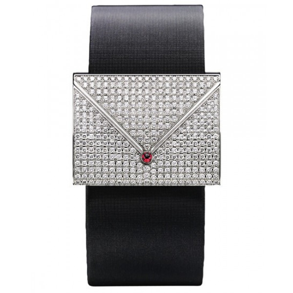 Piaget watches Limelight Love Letter Closed (WG-Diamonds / Strap)
