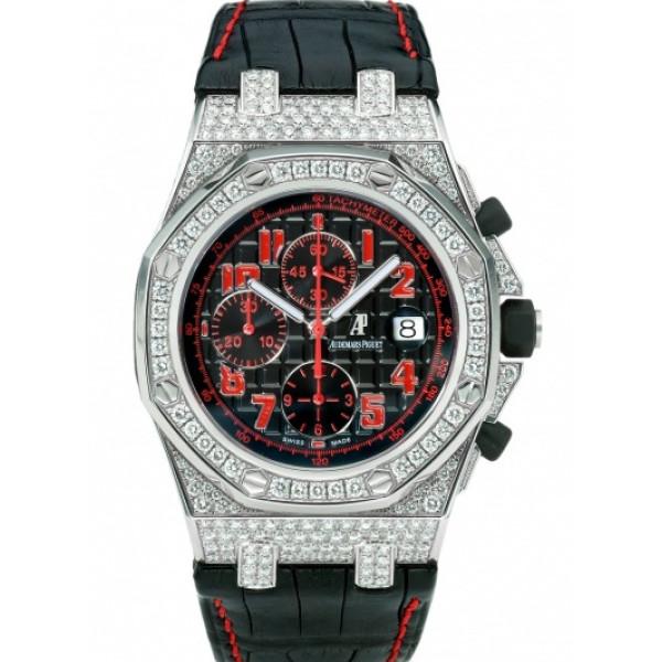 Audemars Piguet watches Royal Oak Offshore Las Vegas Strip Chronograph Diamonds/ WG Limited
