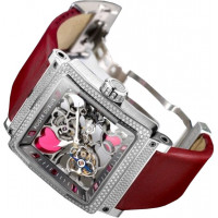 Roger Dubuis watches King Square Hearts Tourbillon Watch For Valentine`s Day