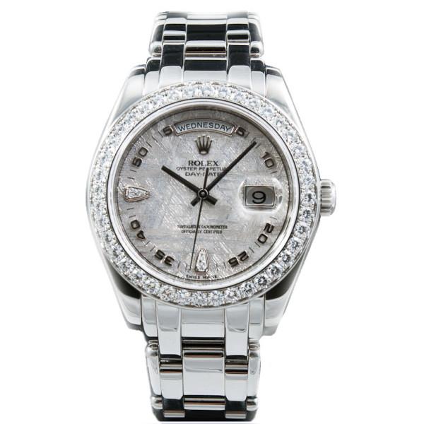 Rolex watches Day-Date 39mm Special Edition Platinum Masterpiece