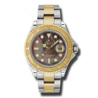 Rolex watches Yacht-Master 40mm Steel and Yellow Gold Champagne