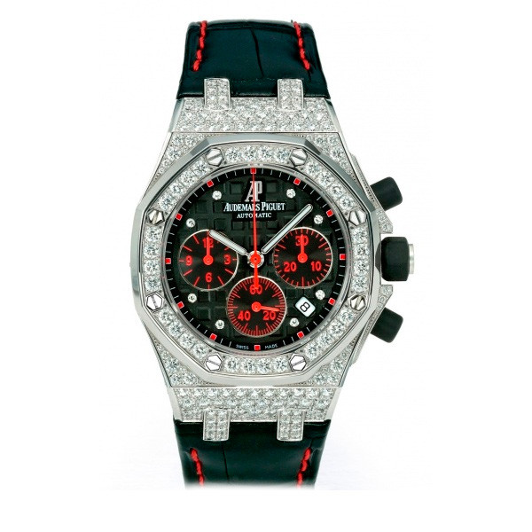 Audemars Piguet watches Ladies' Royal Oak Offshore Selfwinding Chronograph Diamonds/WG Limited