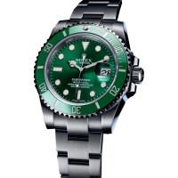 Rolex watches Submariner Date 40mm Steel Ceramic Green