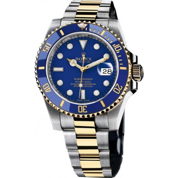 Rolex watches Submariner 40mm Steel and Yellow Gold Ceramic