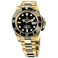 Rolex watches Submariner 40mm Yellow Gold Ceramic