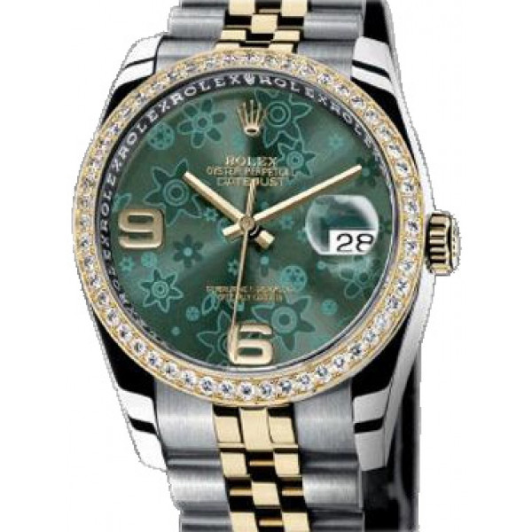 Rolex watches Datejust 36mm Two-Tone Steel/Gold Diamond