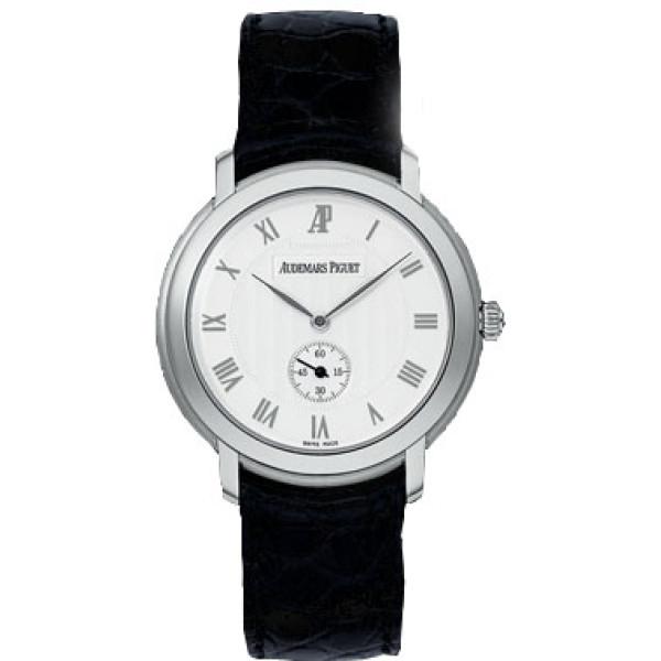 Audemars Piguet watches Jules Audemars Small Seconds (WG / Silver / Leather)