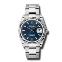 Rolex watches Date 34mm Fluted Bezel - Oyster Bracelet