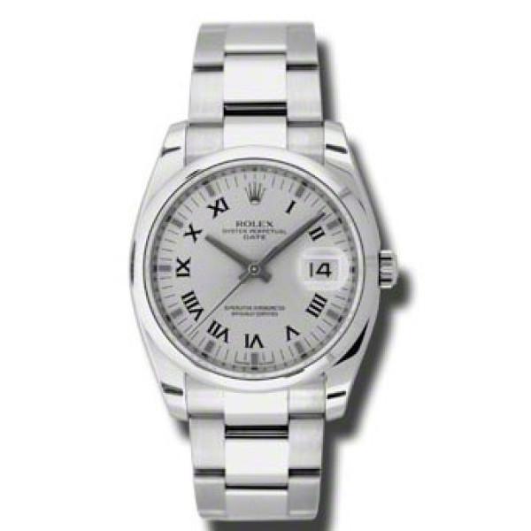 Rolex watches Date 34mm Domed Bezel - Oyster Bracelet
