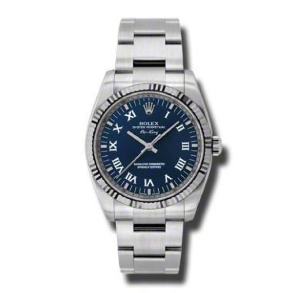 Rolex watches Air-King 34mm Fluted Bezel