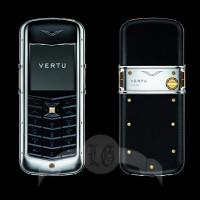 Vertu Constellation Смешанные металлы, чёрная кожа