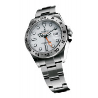 Rolex watches Explorer II Orange Hand White Dial