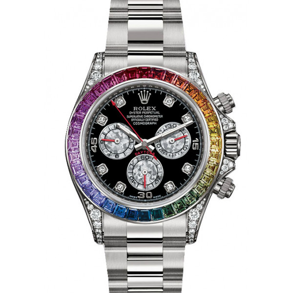 Rolex watches Daytona White Gold