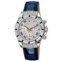 Rolex watches Daytona White Gold - Diamond Bezel 12 sapphires Pave Diamonds Dial