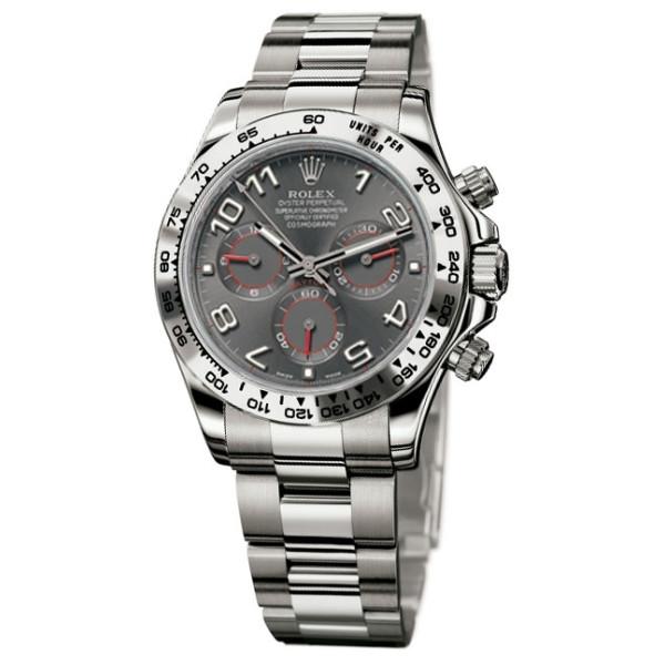 Rolex watches Daytona White Gold - Bracelet Grey dial