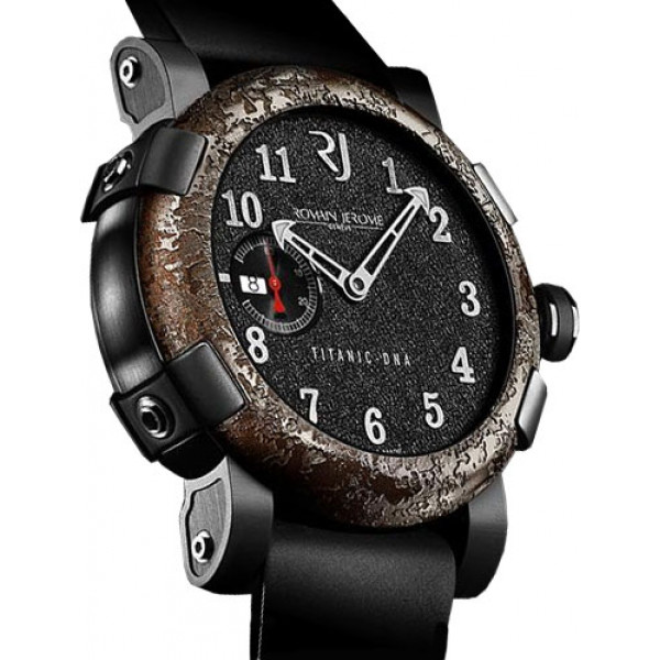 Romain Jerome watches Titanic-Dna Automatic 46  Rusted steel T-oxy III black Extreme Limited