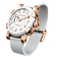 Romain Jerome watches Titanic-Dna Automatic 46 Pink Gold White Ceramic