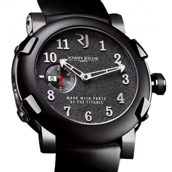 Romain Jerome watches Titanic-Dna Automatic 46 Five Black