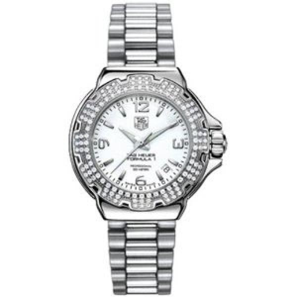 Tag Heuer watches Formula 1 Glamour Diamonds (SS-Diamonds / White / SS)
