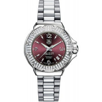 Tag Heuer watches Formula 1 Glamour Diamonds (SS-Diamonds / Maroon / SS)