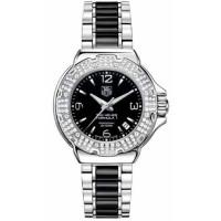 Tag Heuer watches Formula 1 Lady Full Diamonds Bezel & Ceramic Bracelet
