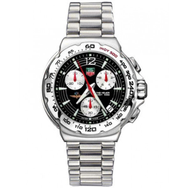 Tag Heuer watches Formula 1 F1 Chronotimer Indy 500 (SS / Black / SS)