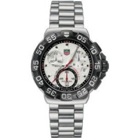 Tag Heuer watches Formula 1 Chronograph (SS / White / SS)
