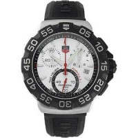 Tag Heuer watches Formula 1 Chronograph (SS / White / Rubber)