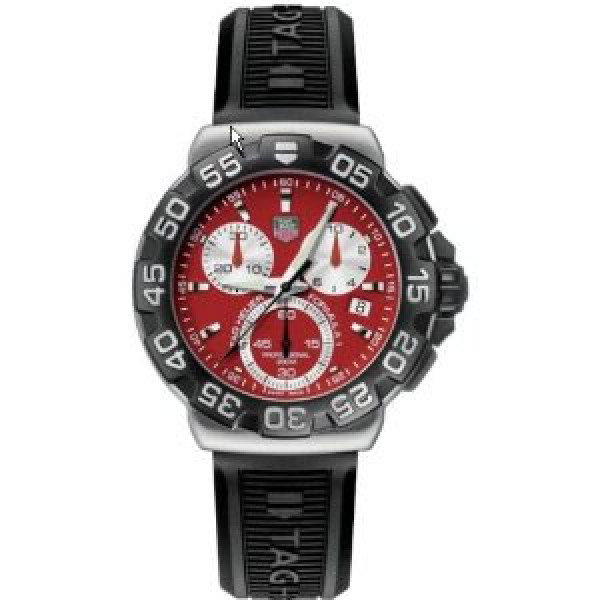Tag Heuer watches Formula 1 Chronograph (SS / Red / Rubber)