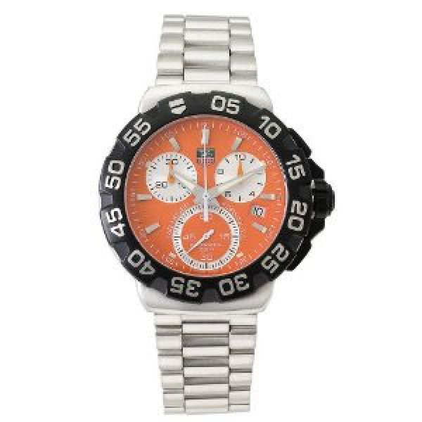 Tag Heuer watches Formula 1 Chronograph (SS / Orange / SS)
