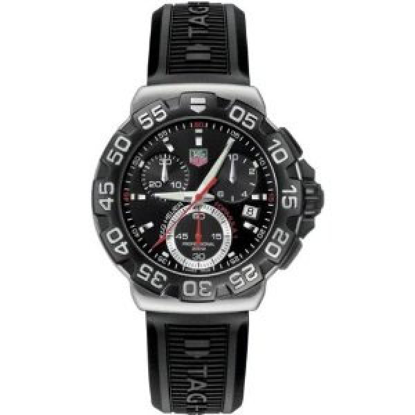 Tag Heuer watches Formula 1 Chronograph (SS / Black / Rubber)