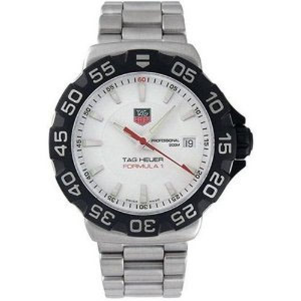 Tag Heuer watches Formula 1 (SS / White / SS)