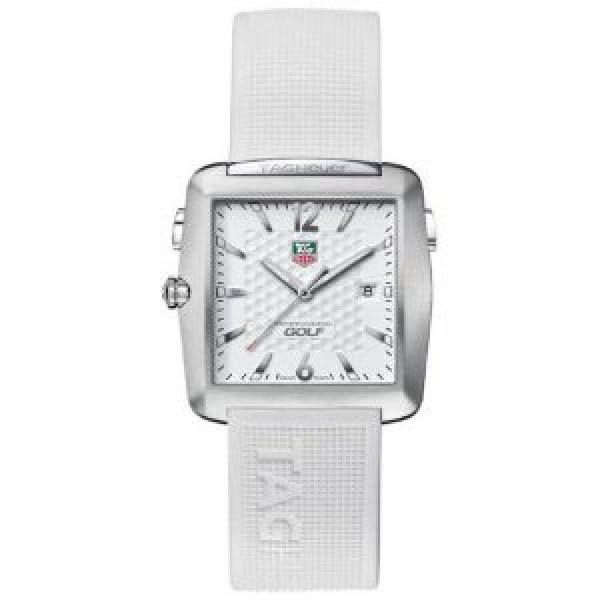 Tag Heuer watches Golf Watch (Ti / White / Rubber)