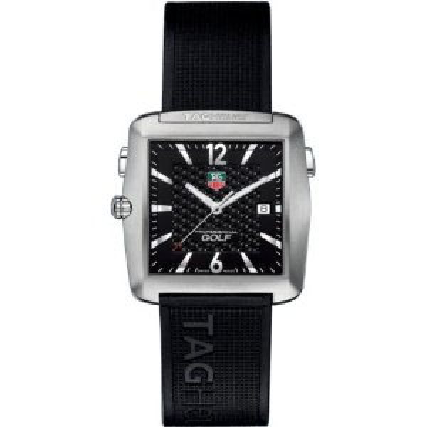 Tag Heuer watches Golf Watch (Ti / Black / Rubber)