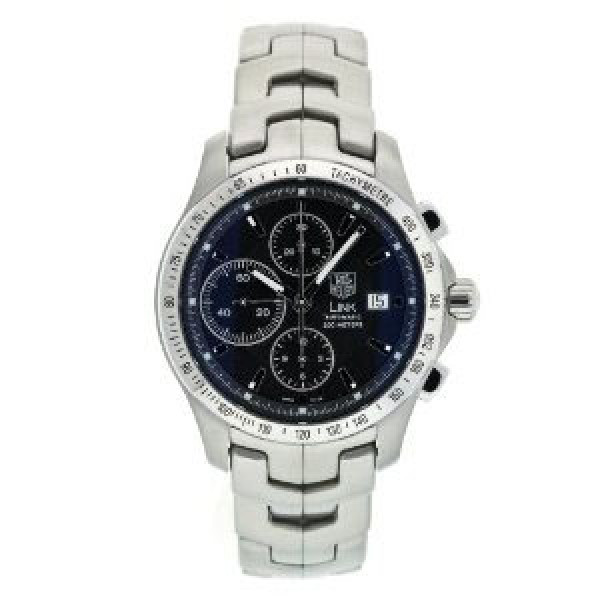 Tag Heuer watches Link Automatic Chronograph (SS / Black / SS)