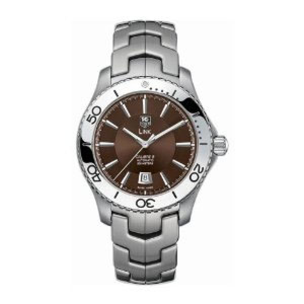 Tag Heuer watches Link Automatic Turning Bezel (SS / Brown / SS)