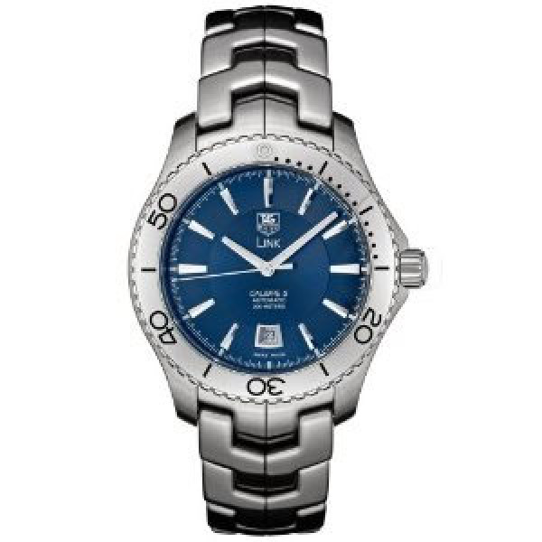 Tag Heuer watches Link Automatic Turning Bezel (SS / Blue / SS)
