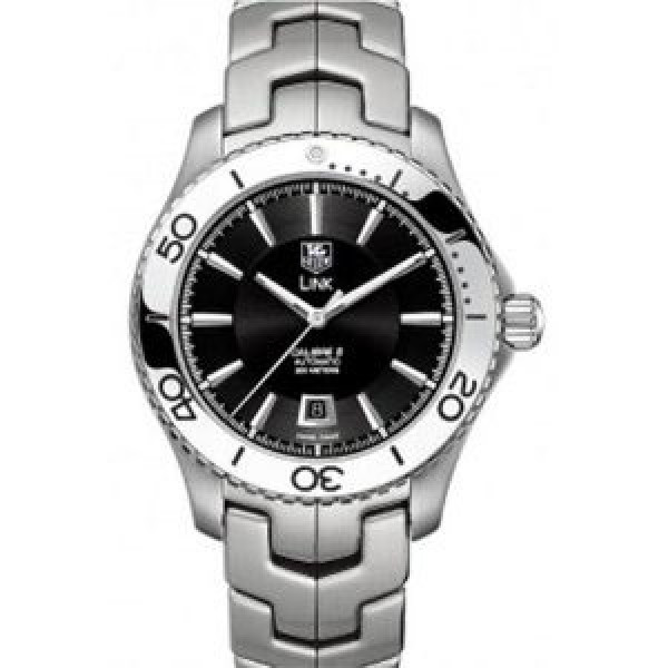 Tag Heuer watches Link Automatic Turning Bezel (SS / Black / SS)