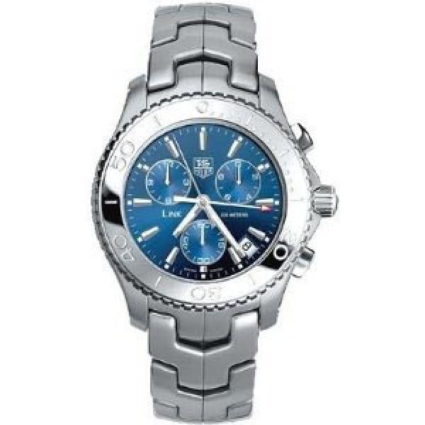 Tag Heuer watches Link Quartz Chronograph (SS / Blue / SS)