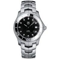 Tag Heuer watches Link Quartz (SS / Black-Diamonds / SS)