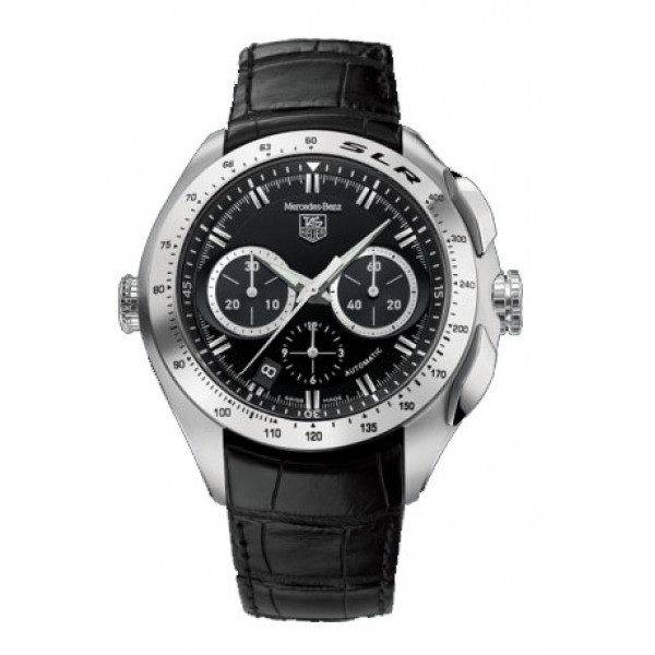 Tag Heuer watches TAG Heuer SLR (Black / Leather)