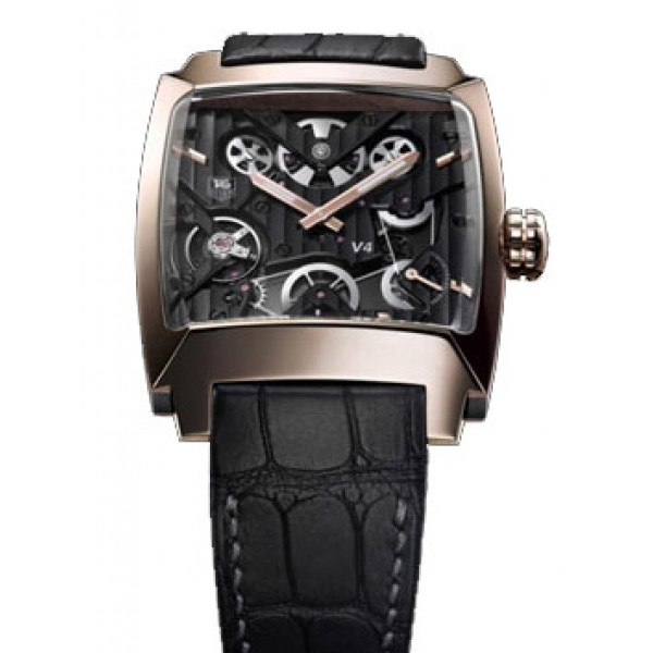 Tag Heuer watches V4 Titanium  Rose gold Limited Edition