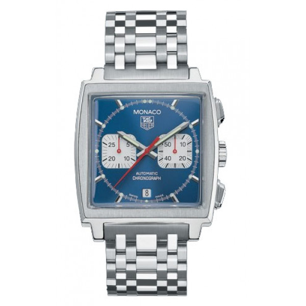Tag Heuer watches Monaco Automatic Chronograph (SS / Blue / SS)