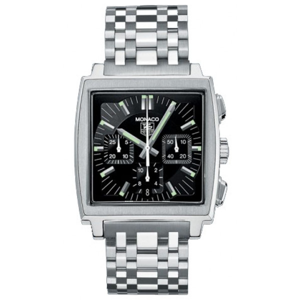 Tag Heuer watches Monaco Automatic Chronograph (SS / Black / SS)