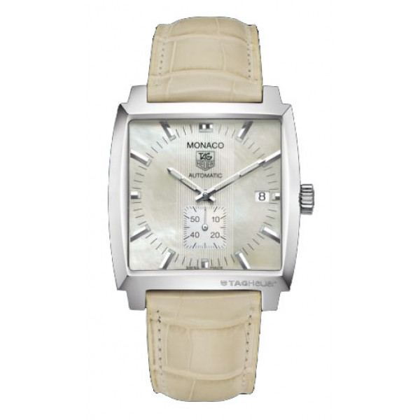 Tag Heuer watches Monaco Automatic (SS / MOP / Leather)