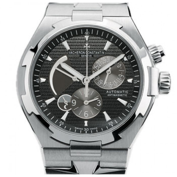 Vacheron Constantin watches Overseas Dual Time (SS / Black)