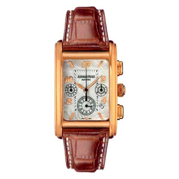 Audemars Piguet watches Edward Piguet Chronograph (PG / Silver / Leather)
