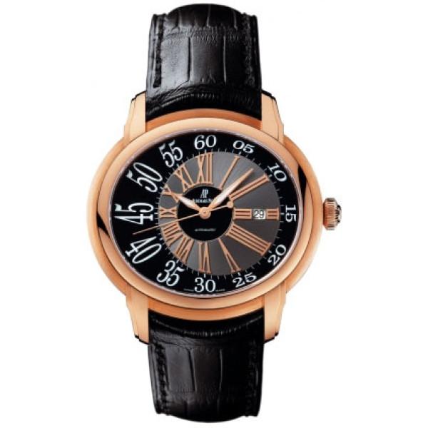 Audemars Piguet watches Millenary Novelty (RG / Black / Leather)